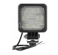 Lampa robocza LED 100x100 12/24V+przew 1500lm + przew.0.5m