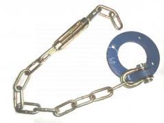 łańcuch boczny z kołnierzem do T25