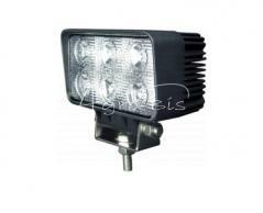 Lampa robocza 6 LED prostokątna Motorra