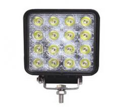 Lampa robocza LED 3600 lumenów kwadratowa Motorra