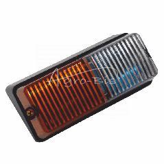 Lampa przednia metal T25 prawa