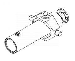cylinder hydrauliczny teleskopowy wywrotu przyczepy