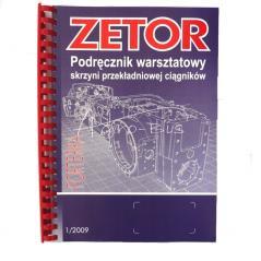instrukcja napraw skrzyni podręcznik warsztatowy zetor forterra