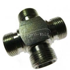 Złączka czwórnikowa M22*1,5 15L  PN149 M22*1,5 15L