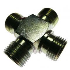 Złączka czwórnikowa M18*1,5 12L  PN149 M18*1,5 12L