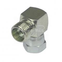 Złączka kolankowa AB M12x1,5/M  16x1,5 6L/10L