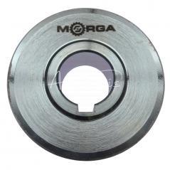 Koło pasowe 1 pasek HB śr.80 fi28 stalowe MORGA