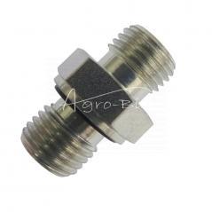 Przyłączka prosta ZN140  M14x  1,5/M14x1,5 ED/8L
