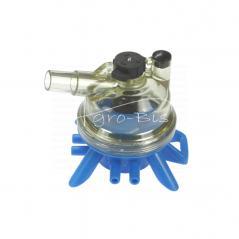 Kolektor kompletny 150 ml z króćcami 10 mm.