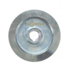 Koło pasowe 2 paski HB śr.130 fi24 stalowe MORGA