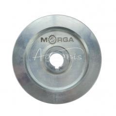 Koło pasowe 2 paski HB śr.130 fi22 stalowe MORGA