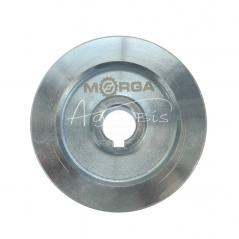 Koło pasowe 2 paski HB śr.120 fi24 stalowe MORGA