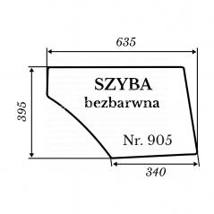 Szyba 905