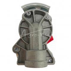 Złącze przewodów powietrza dwuobwodowe (twarde bez zaworu) x501200 Euro 22x1.5 czerwone ISO 1728 ARCHIMEDES